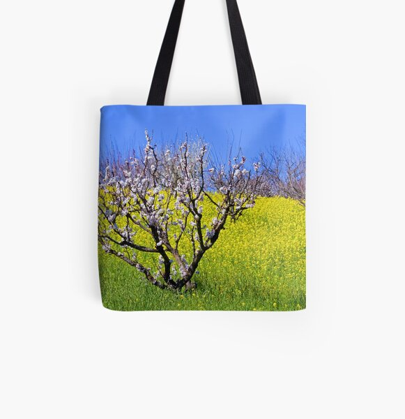 The Hills Are Alive All Over Print Tote Bag
