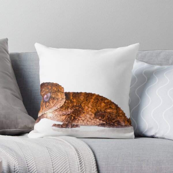 Rough Knob Tailed Gecko [Nephrurus asper] Throw Pillow