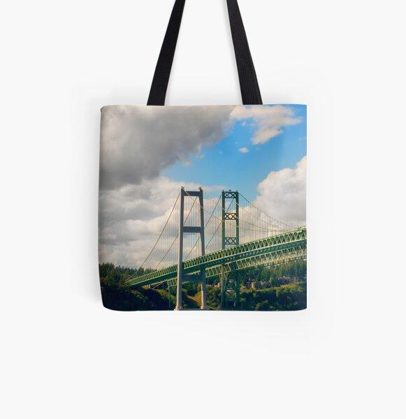 Narrows All Over Print Tote Bag
