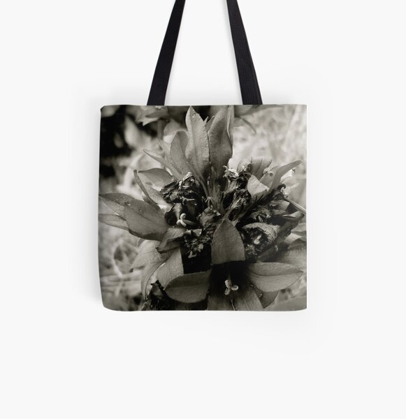 Beauty in Greyscale All Over Print Tote Bag