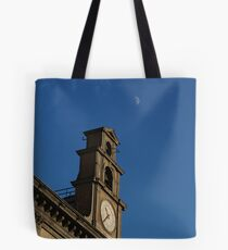 Naples and the moon Tote Bag
