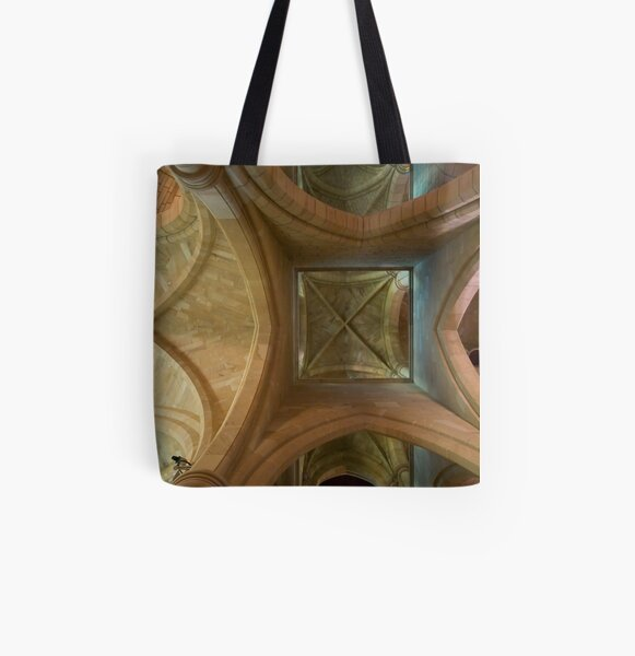 Arches Above Redux All Over Print Tote Bag