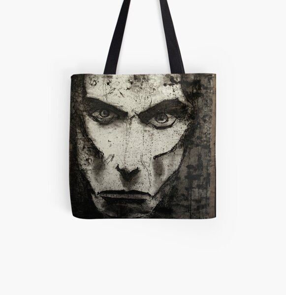 portrait of j osterburg All Over Print Tote Bag