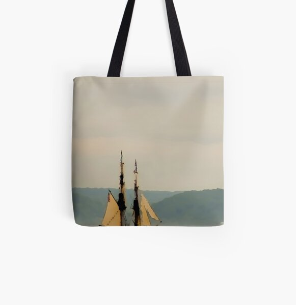 Come About All Over Print Tote Bag