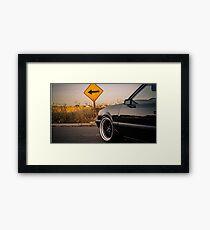 5.0 Framed Print