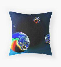 Fractal Cosmos Throw Pillow