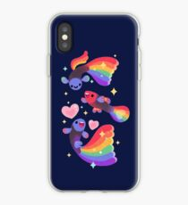 Guppy arc-en-ciel 5 Coque et skin iPhone