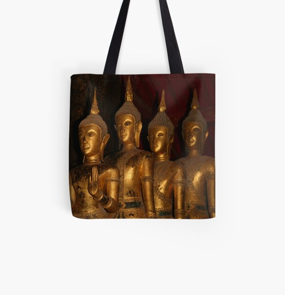 Statues of the Buddha All Over Print Tote Bag