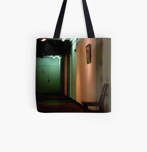 the waiting All Over Print Tote Bag