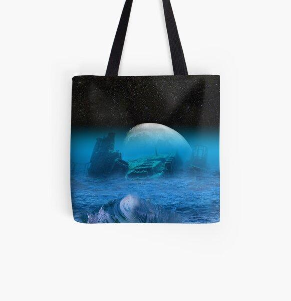 Spero Melior All Over Print Tote Bag