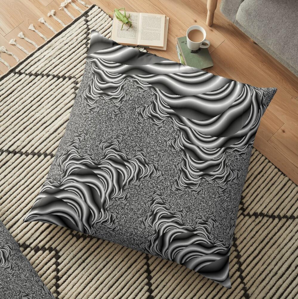 Birds Eye View Floor Pillow