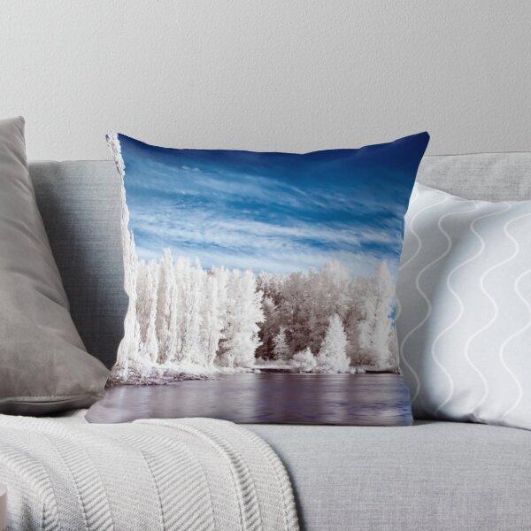 Lake Waughop Throw Pillow