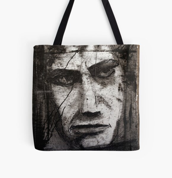 superhero All Over Print Tote Bag