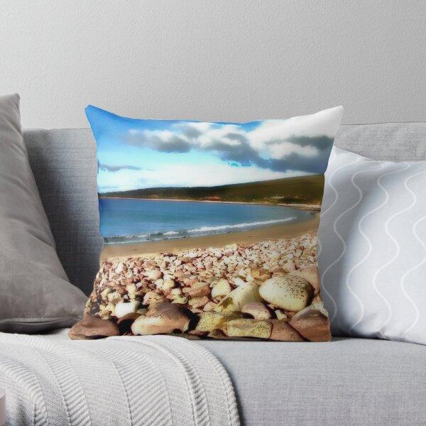 Mulranny Strand Throw Pillow