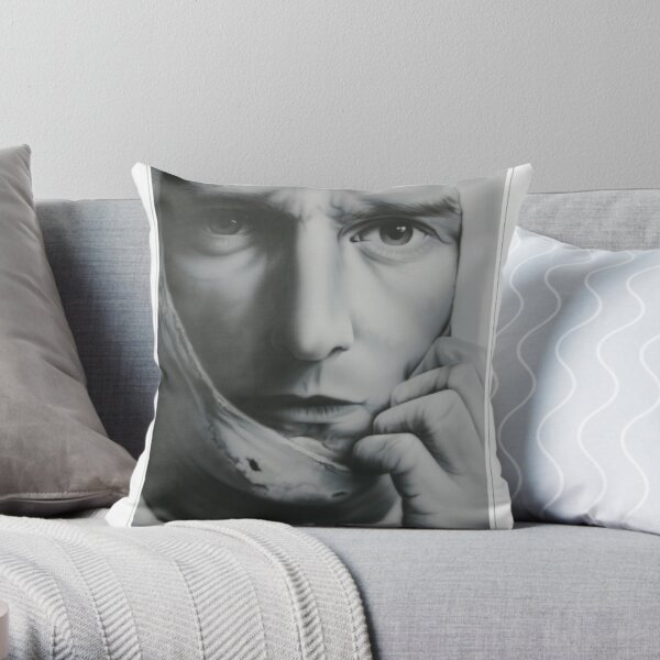 Mark Webber Throw Pillow