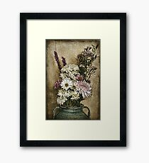 Yesterday's Bouquet Framed Print
