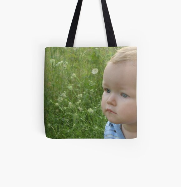 Summer Baby All Over Print Tote Bag