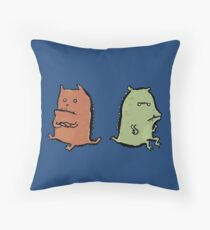 two dragons Floor Pillow