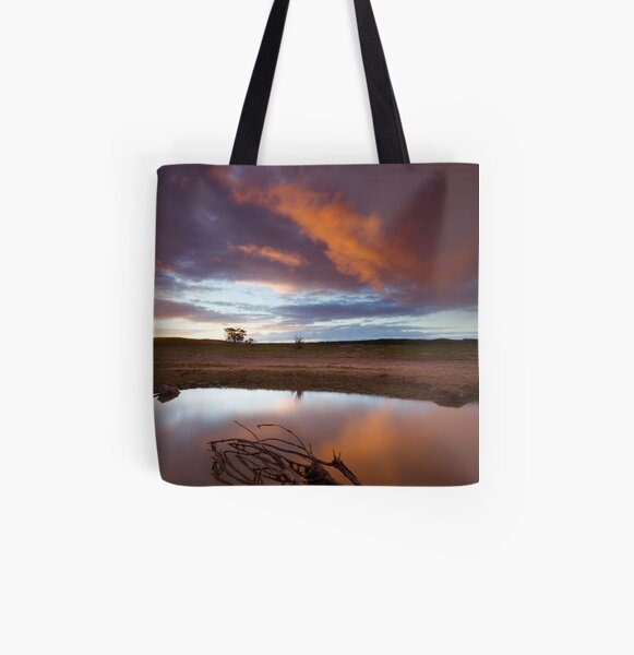 Just Beyond The Neighborhood All Over Print Tote Bag