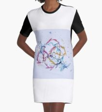 Rite of Spring Graphic T-Shirt Dress