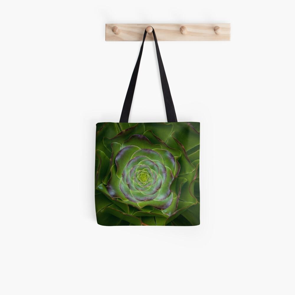 Flowering Mandala  Tote Bag