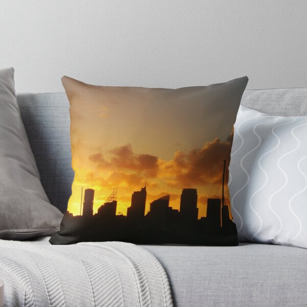 Skyscrapers, Sydney Throw Pillow