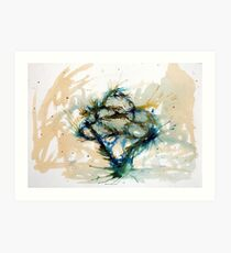 Our entwined hearts Art Print