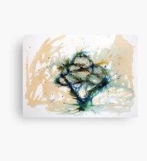 Our entwined hearts Canvas Print
