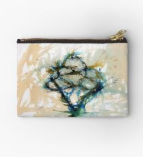 Our entwined hearts Zipper Pouch