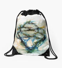 Our entwined hearts Drawstring Bag