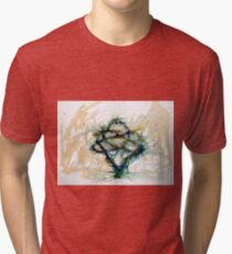 Our entwined hearts Tri-blend T-Shirt