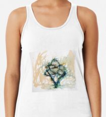 Our entwined hearts Racerback Tank Top