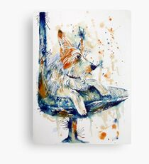 The Watchdog Canvas Print