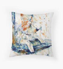 The Watchdog Throw Pillow