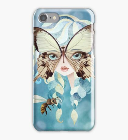 Niella Butterfly Girl iPhone Case/Skin