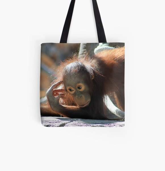 The Thinker All Over Print Tote Bag