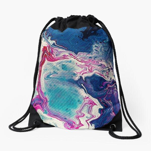 Shimmering Sequence Drawstring Bag