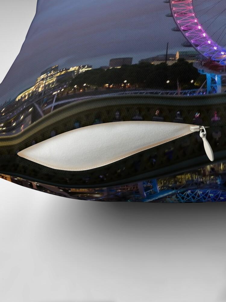 Alternate view of London Eye Throw Pillow