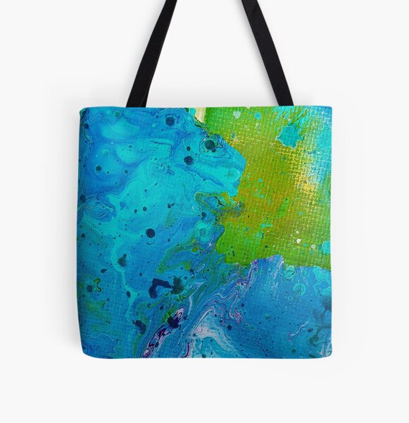 Fragment of Falling Space All Over Print Tote Bag