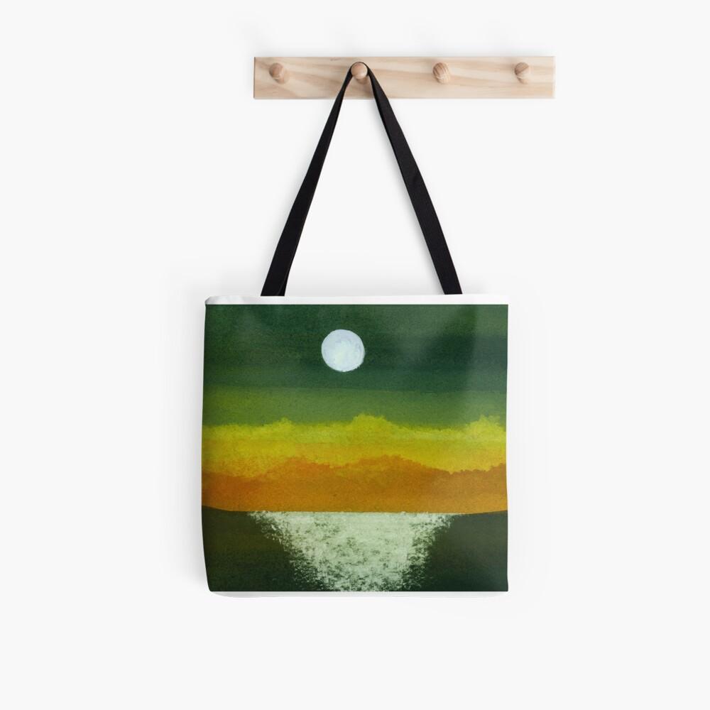 Moon and Ocean Tote Bag
