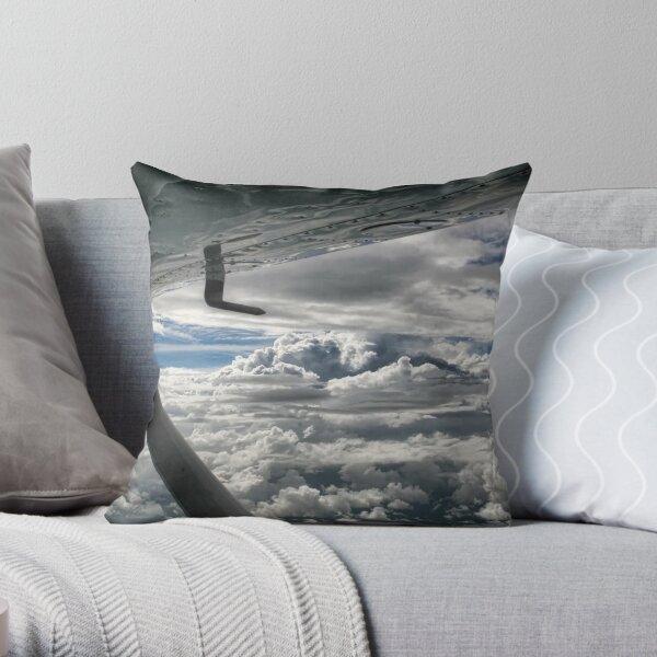 Cessna Skies Throw Pillow