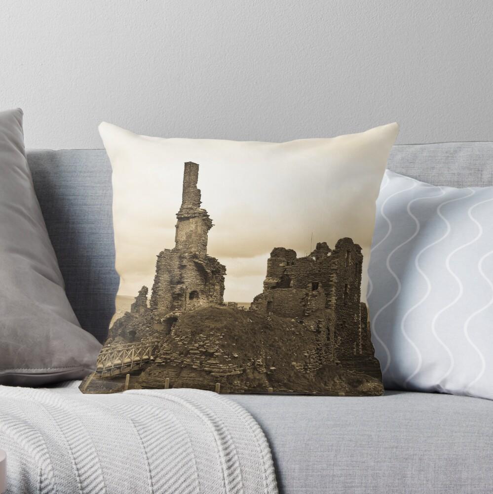 Sinclair Castle Throw Pillow
