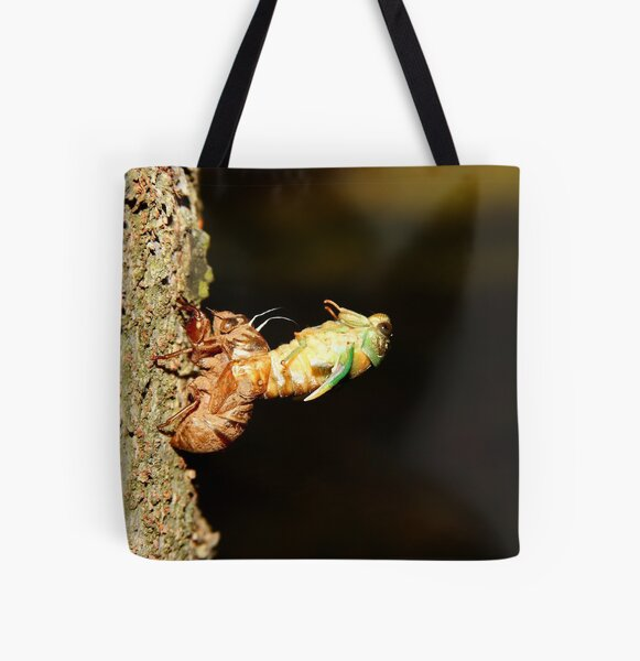 Almost out All Over Print Tote Bag