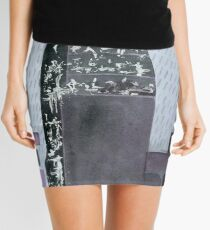Yesterday, when we were gold.  Mini Skirt