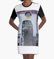 Yesterday, when we were gold.  Graphic T-Shirt Dress