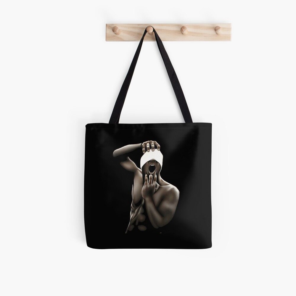 Descended (Color pencil drawing) Tote Bag