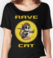 RAVE CAT - The TShirt Women's Relaxed Fit T-Shirt