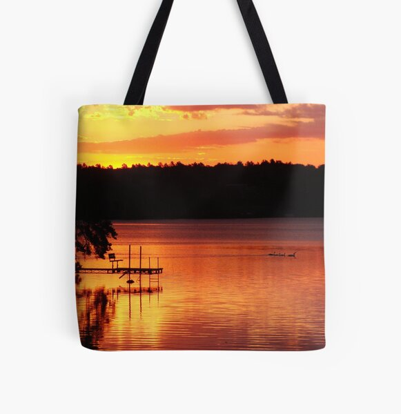 Fresh Beginning All Over Print Tote Bag