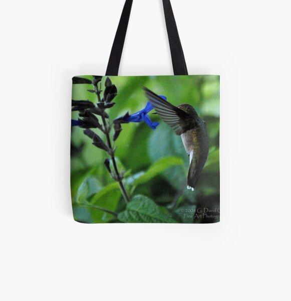 Hummingbird 7 All Over Print Tote Bag