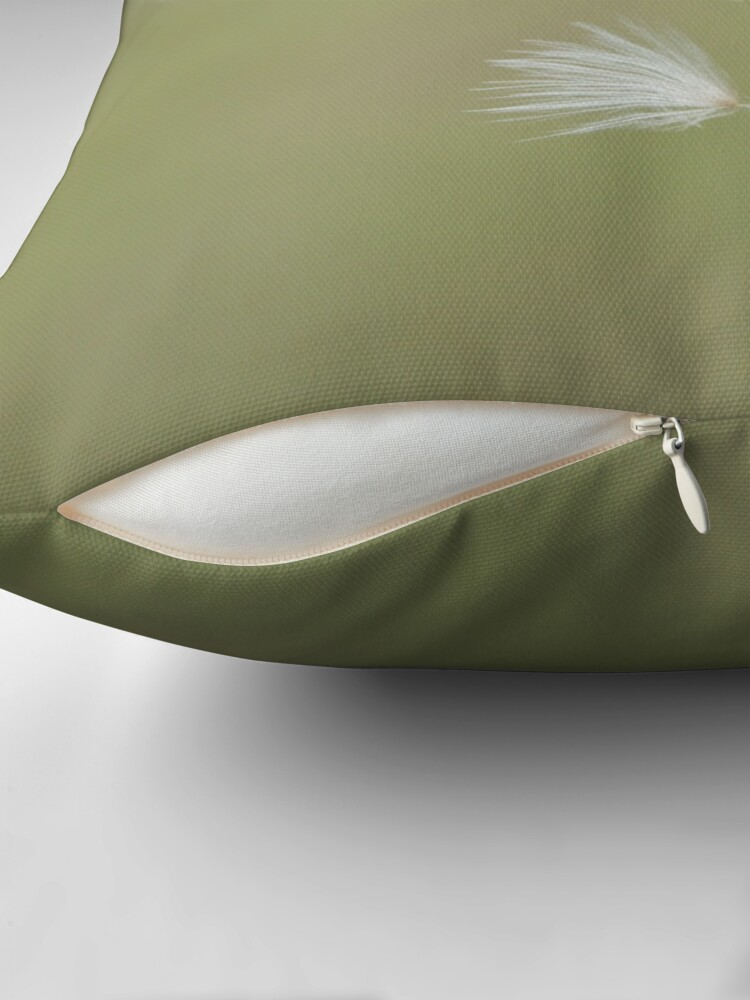 Alternate view of Caught Throw Pillow